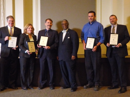 JE Dunn, Freightquote, Burns & McDonnell, Hines and the City of Kansas City receives special recognition for seeking ENERGY STAR certification.